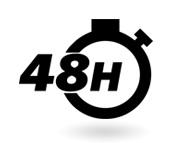 chronomètre - 48h - commandez 48h à l'avance