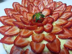 Tartes aux fraises -M- Traiteur Toulon var 83